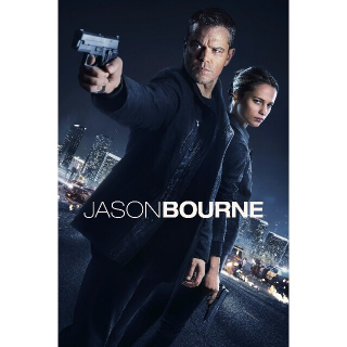Jason Bourne UHD 4K VUDU|MOVIES ANYWHERE