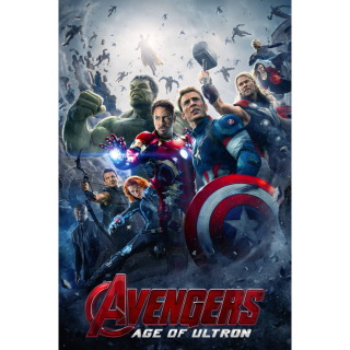 Avengers: Age of Ultron VUDU|ITUNES|MOVIES ANYWHERE