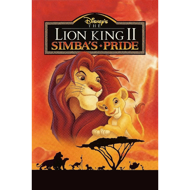 the lion king 2 simba\u0027s pride itunes hd ma digital The Lion King Topic