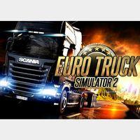 Euro Truck Simulator 2 (GLOBAL KEY STEAM) Only 8.99$