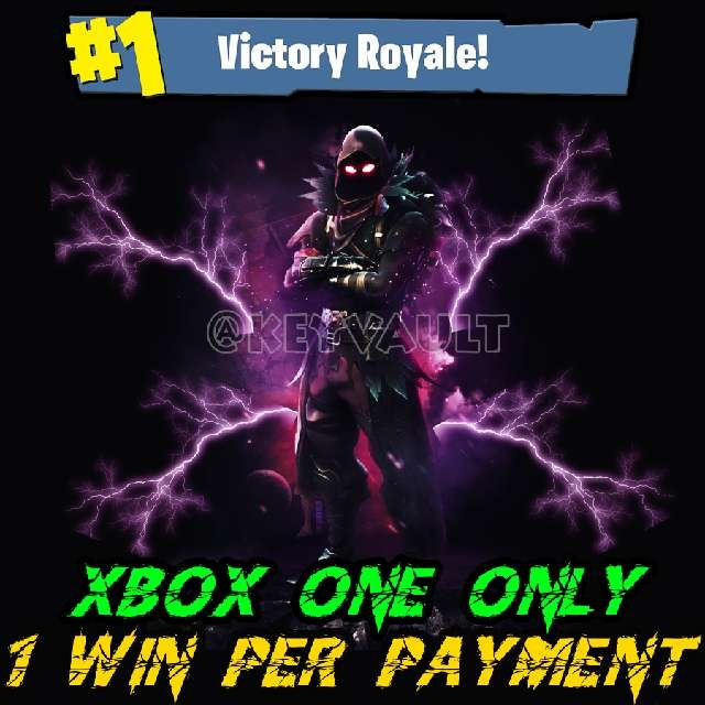 Fortnite Battle Royale Xbox One Wins [All Game Modes