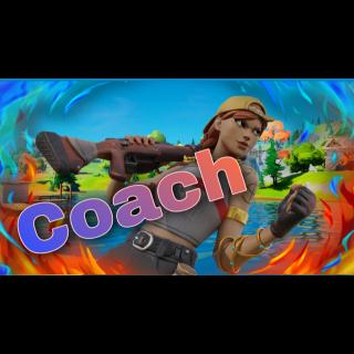Pro Fortnite coach