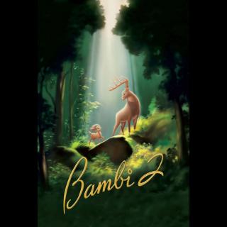 Bambi II (2006) HD MA ~> No DMR or Google Play