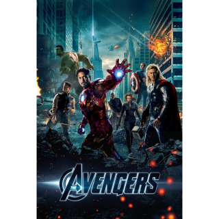 HD Google Play ONLY: The Avengers (2012) NO MA or DMR points