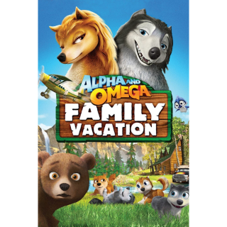 Alpha and Omega 5: Family Vacation (2015) SD Vudu ~> INSTANT DELIVERY <~