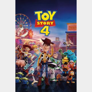 Toy Story 4 (2019) HD MA only! NO GP or DMR points