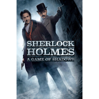 Sherlock Holmes: A Game of Shadows (2011) HD MA ~> INSTANT DELIVERY <~