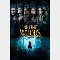Disney's Into the Woods (2014) HD MA ~no points or GP portion