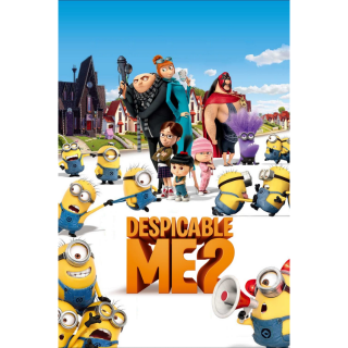 Despicable Me 2 (2013) HD MA