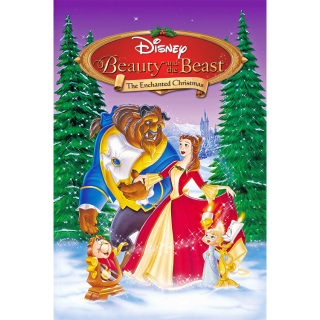 Beauty and the Beast: The Enchanted Christmas HD Movies Anywhere only! NO Google Play or Disney Movie Rewards
