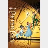 Peter Pan (1953) HD MA  (NO Google Play or DMR)