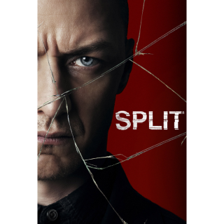 Split (2017) HD Vudu ~> INSTANT DELIVERY <~