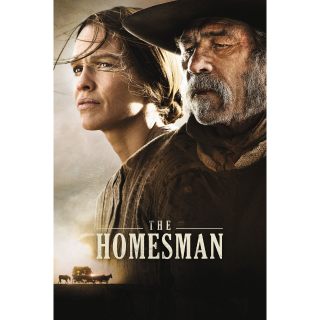 The Homesman (2014) SD Vudu ~> INSTANT DELIVERY <~