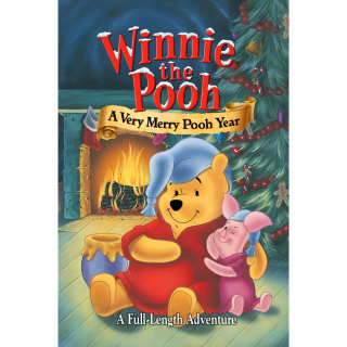 GOOGLE PLAY only: Winnie the Pooh: A Very Merry Pooh Year (2002) NO DMR or MA