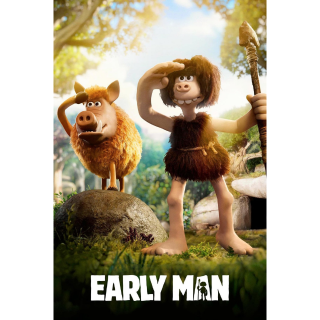 Early Man (2018) HD Vudu