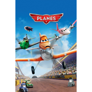 Planes (2013) HD MA only! No DMR points or Google Play