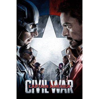 Google Play ONLY: Captain America: Civil War (2016) NO MA portion or DMR points