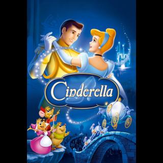 Cinderella (1950) HD MA ~> No DMR or Google Play
