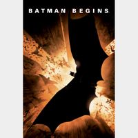 Batman Begins (2005) HD MA ~> INSTANT DELIVERY <~
