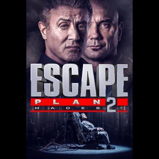 Escape Plan 2: Hades (2018) HD Vudu
