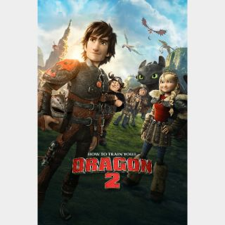 How to Train Your Dragon 2 (2014) HD MA