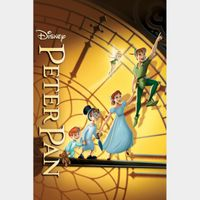 HD GOOGLE PLAY code ONLY: Peter Pan (1953)