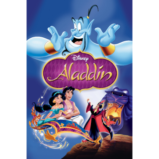 HD GOOGLE PLAY only: Aladdin (1992) NO MA or Disney Movie Rewards Points