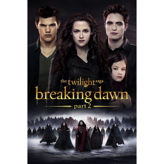 The Twilight Saga: Breaking Dawn - Part 2 (2012) SD VUDU ~> INSTANT DELIVERY <~