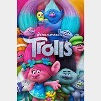 Trolls (2016) HD Movies Anywhere