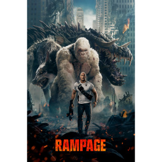 Rampage (2018) HD MA ~> INSTANT DELIVERY <~