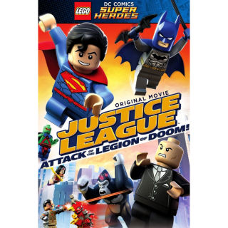 Lego DC Comics Super Heroes: Justice League – Attack of the Legion of Doom! (2015) HD MA ~> INSTANT DELIVERY <~