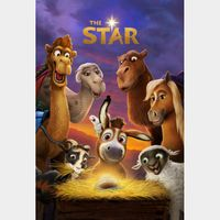 The Star (2017) SD Movies Anywhere ~Instant Delivery~