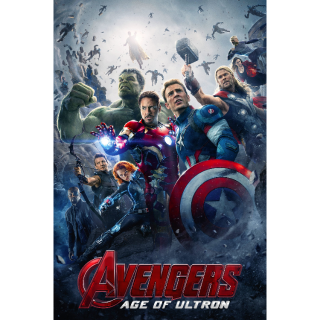 Avengers: Age of Ultron (2015) HD MA ONLY! No DMR points or Google Play
