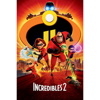 Incredibles 2 (2018) HD MA only! NO Google Play or DMR points