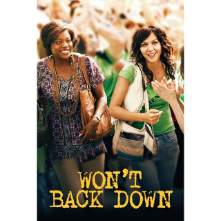 Won't Back Down (2012) HD MA