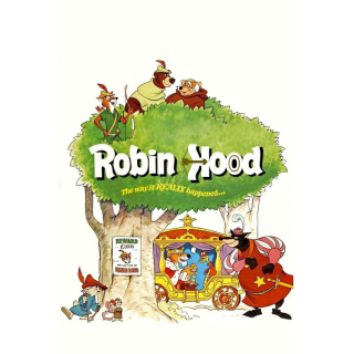 GOOGLE PLAY ONLY: Robin Hood (1973) NO DMR or MA