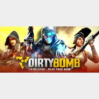🔑Dirty Bomb [steam key]DLC - Booster Pack and 3 Mercs