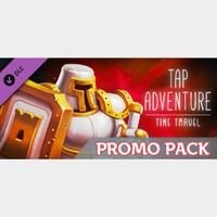 🔑🌐Tap Adventure: Time Travel [steam key] DLC-Promo Pack