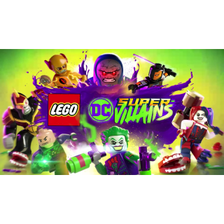 🔑🌐LEGO DC Super-Villains Deluxe Edition [steam key]