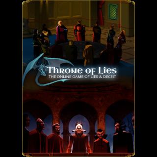🔑Throne of Lies® The Online Game of Deceit [ steam key]