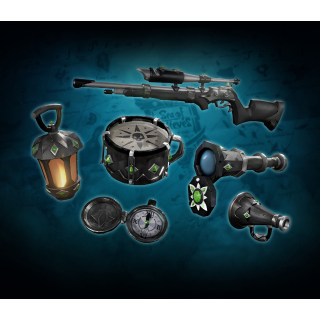 🔑Sea of Thieves[XBOX One & W10] DLC- Obsidian Six Item Pack