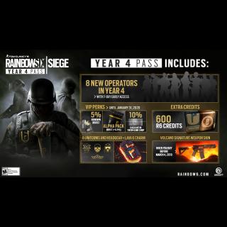 🔑Tom Clancy's Rainbow Six® Siege - Year 4 Pass [Uplay ]