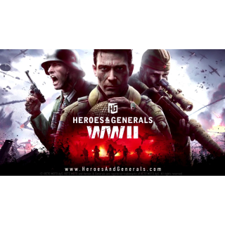 🔑🌐Heroes & Generals [digital key] Starter Pack