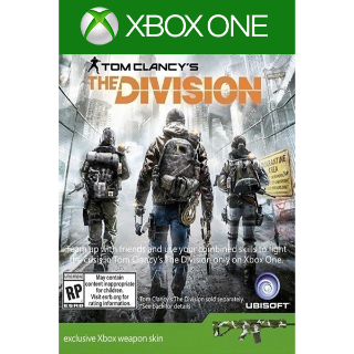 🔑Tom Clancy's The Division - Weapon Skins [DLC] [Xbox One]Xbox Live Key GLOBAL