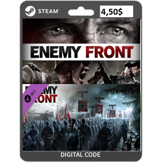 🔑Enemy Front + Enemy Front Multiplayer Map Pack DLC [steam key]