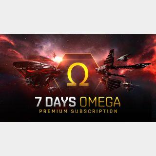 🔑🌐 EVE Online [digital key] 7 Days Omega time
