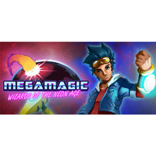 🔑Megamagic: Wizards of the Neon Age [steam key]