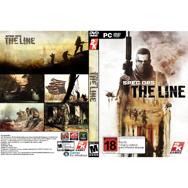 Spec Ops: The Line [steam key] - Steam Games - Gameflip