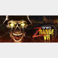 🔑🌐WW2 Zombie Range VR [steam key]
