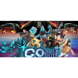 🔑Go All Out! [steam key]